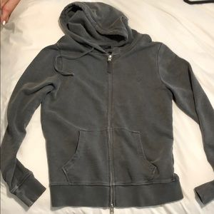 All saints grey hoodie